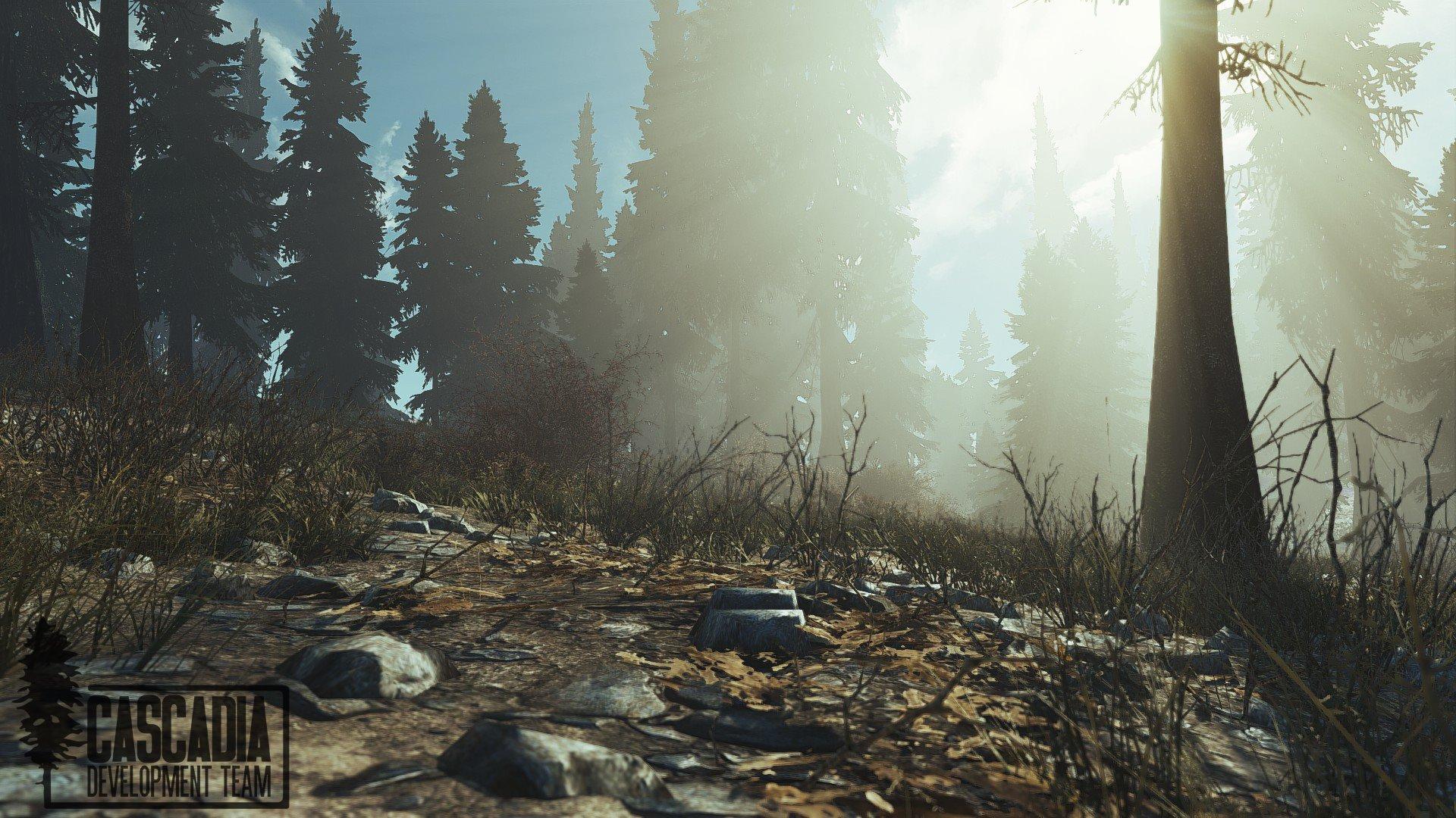 Разработчики Fallout Cascadia глобального мода для Fallout4 продолжают работу над миром, вот пару скриншотов: