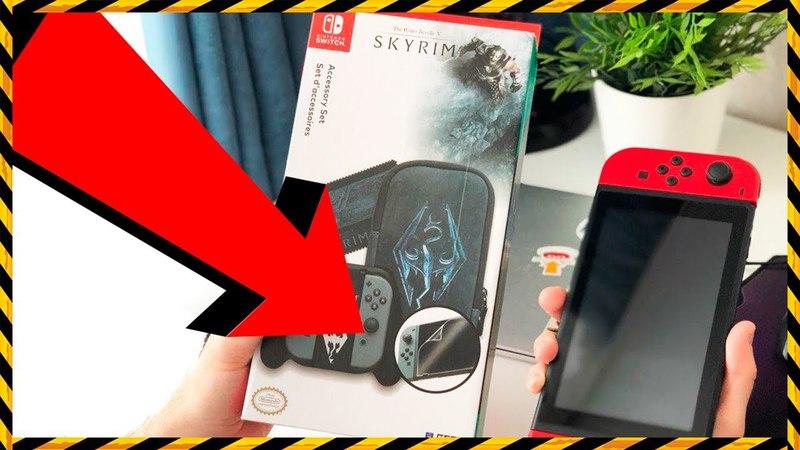 Hori Skyrim для Nintendo Switch! КРУТОЙ НАБОР!