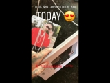 Bill Kaulitz Instagram Stories (04.05.2018): Смотрите, что я сегодня получил по почте! 😍