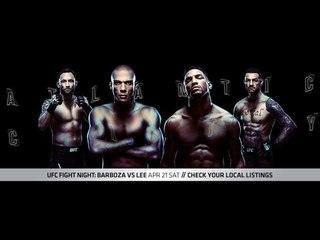 ММА-подкаст: Выпуск №217 - UFC Fight Night 128: Barboza vs. Lee