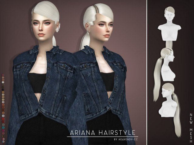 Ariana Hairstyle by Heavendy
