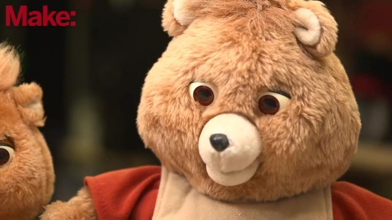 Роботизированный говорящий медведь из прошлого