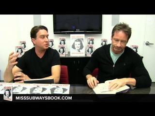 David Duchovny Book Signing and Interview ¦ Miss Subways