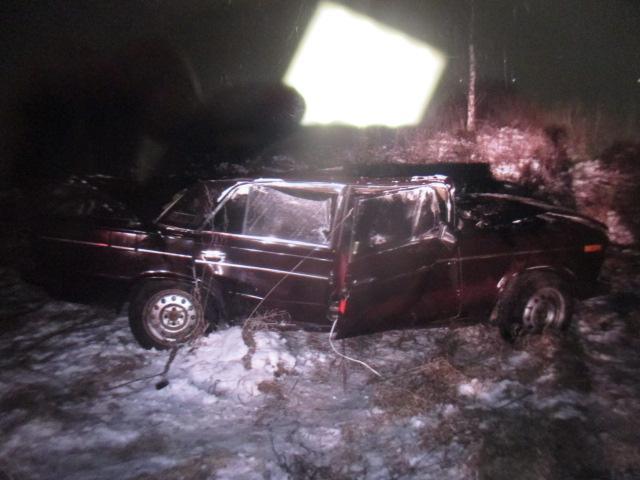 В результате ДТП пострадал пассажир автомобиля