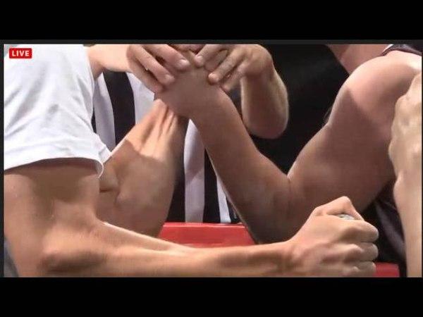 ArmWrestling Las Vegas UAL 2013 Zhokh polufinal