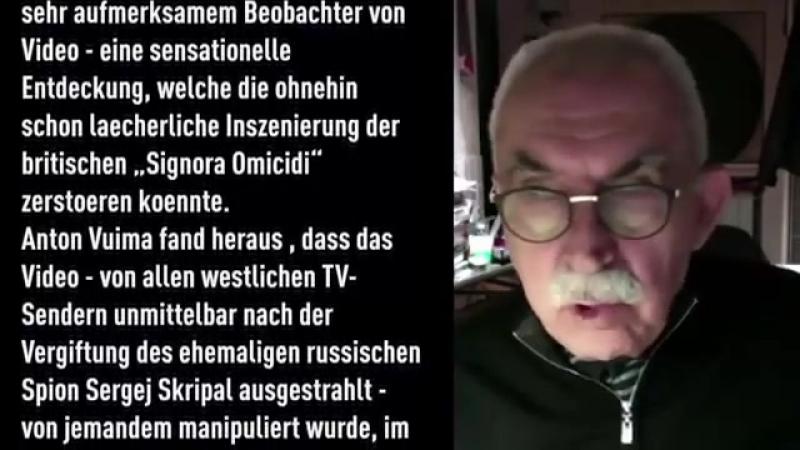 Giulietto Chiesa - Der Fall Skripal und dessen politischer Skandal