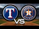 AL / 12.05.2018 / TEX Rangers @ HOU Astros (2/3)
