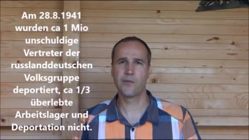 Trauertag Russlanddeutsche am 25. August 2018 in Fulda und Berlin um 14.00