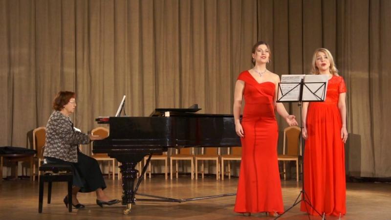 Алина Николаева и Диляра Бариева -Делиб Цветочный дуэт из Лакме
