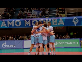HIGHLIGHTS. Динамо Москва — Газпром-Югра Суперлига 2017-18. Мужчины