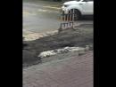 И снова проваливается асфальт в Ростове.