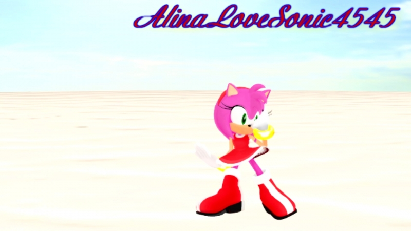 (MMD) (Sonic) Amy Rose Alexandra Mr. Saxobeat