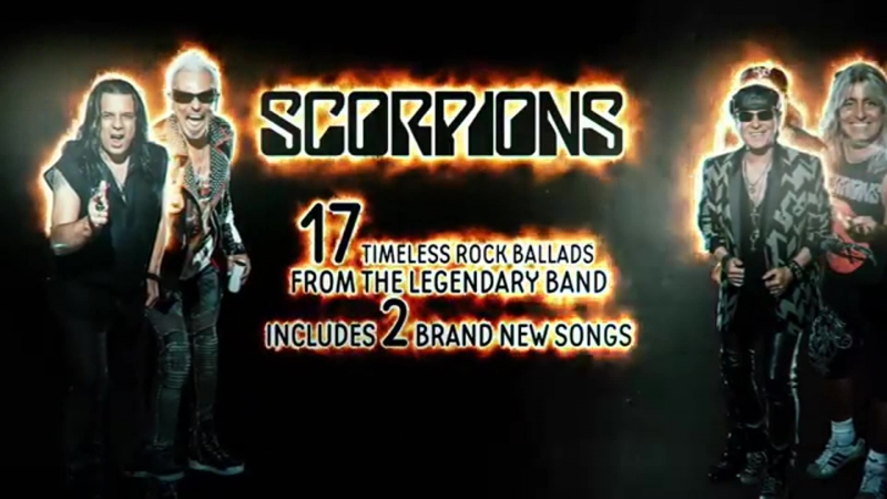 SCORPIONS «BORN TO TOCHCH YOUR FEELINGS- Best Of Rock Ballads»
