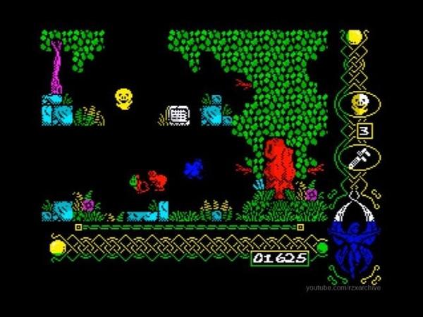 Ghost Castle 2 Walkthrough, ZX Spectrum