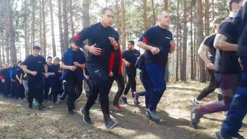 Марш бросок СООПр участник 3 Максим Крюков