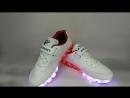 Кроссовки Nike со светящейся подошвой с пультом