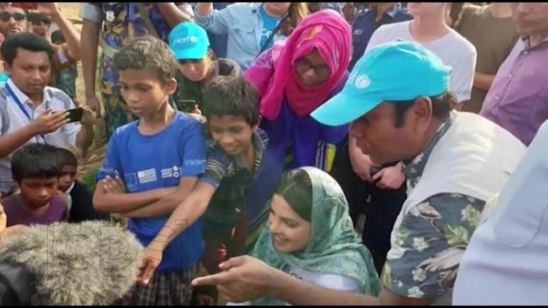 Priyanka Chopra Visits Rohingya Refugee Camps In Bangladesh
