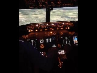 Давно интересно было , что такое stick shaker на самолёте, точнее как это происходит ... Ну так вот , наконец, ощутил , что это