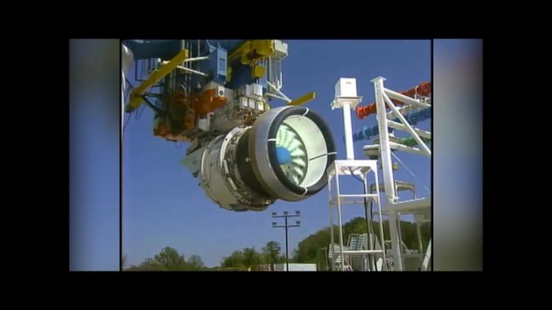 Испытания реактивных двигателей