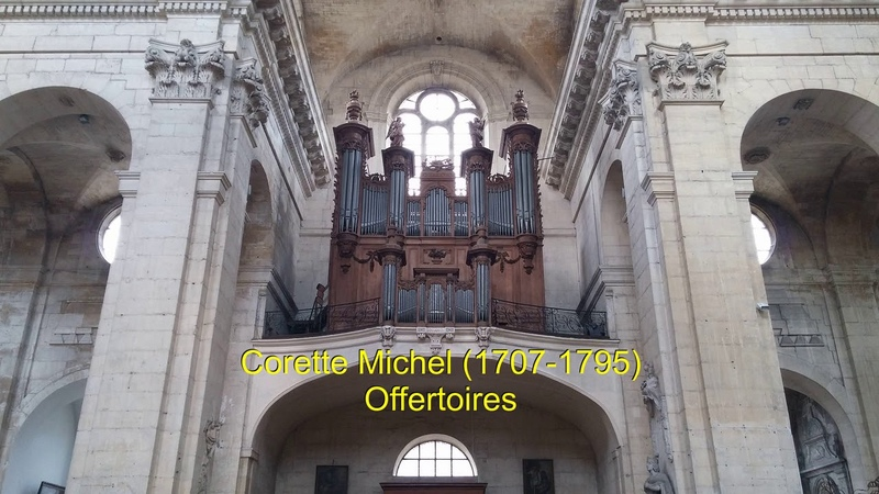Corrette Michel Offertoires