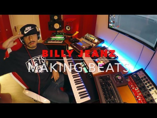 Billy Jeanz Making a ☆Stoner Trap Beat☆ with Maschine Mk3 and Komplete Kontrol S61 Mk2