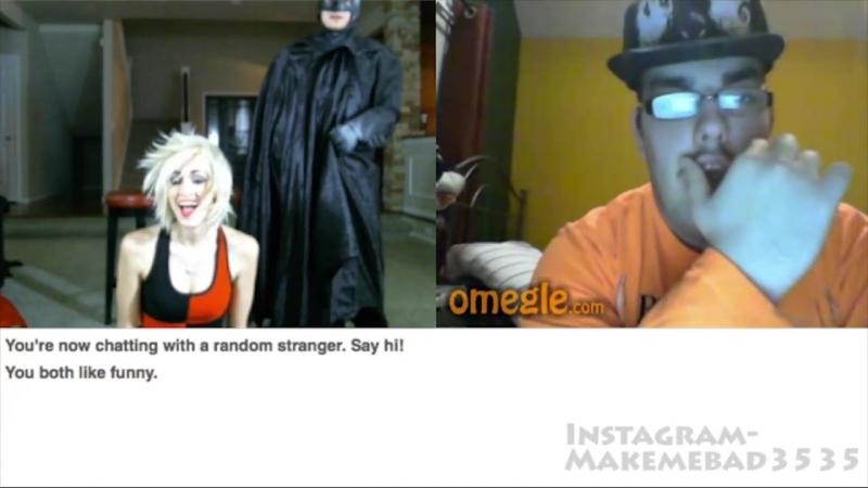 Joker Kills Batman on Omegle 2!