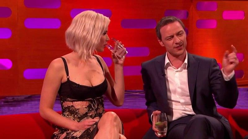 The Graham Norton Show S19E08 Jennifer Lawrence, James McAvoy, Johnny Depp, Jack Whitehall