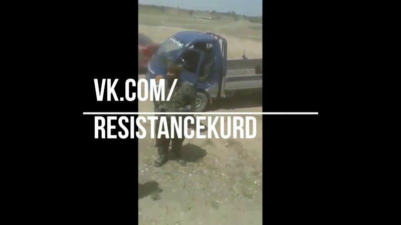 В результате контрнаступления арабских и курдских SDF были взяты трофеи в ДеирЭзЗоре