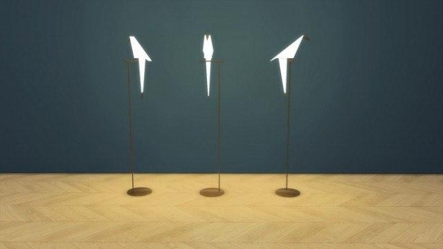 Perch Floor Lamp by Meinkatz Creations
