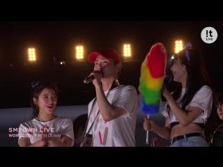 180420 Irene, Seulgi, Wendy, Yeri (Red Velvet) @ !t Live:The story of SMTOWN LIVE WORLD TOUR VI in DUBAI