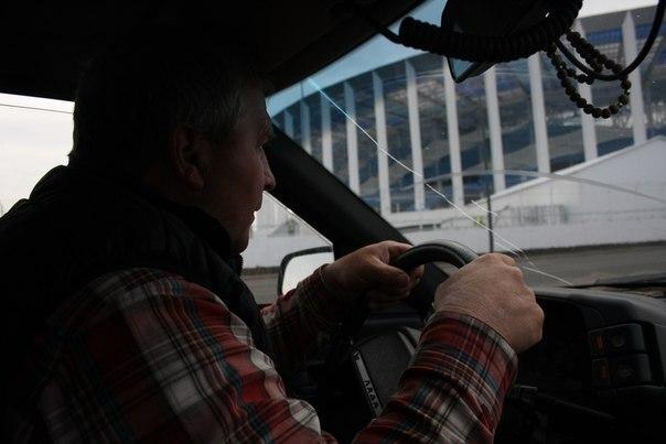 Отец за рулём.  30 апреля 2018