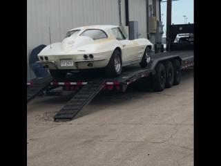 Gas Monkey Garage corvette