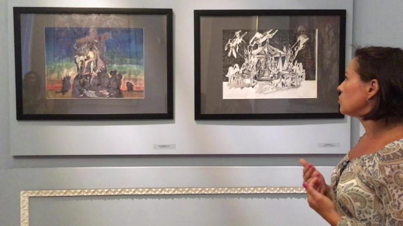Экскурсия куратора Ольги Алексеевой по выставке Александра Семенцова, Русский музей