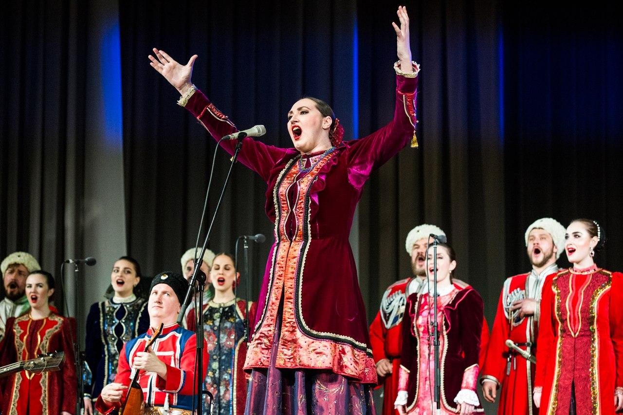 Афиша Волгоград Кубанский казачий хор в Волгограде