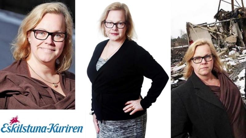 Eskilstuna-Kuriren sprider fakenews - nu flyr annonsörer