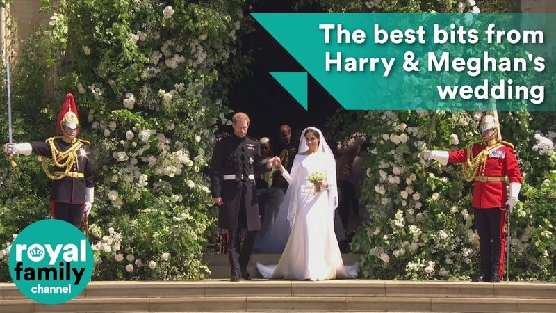 All the best bits from Prince Harry and Meghan Markles royal wedding