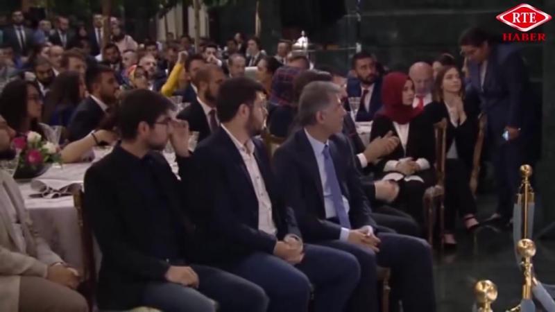 Cumhurbaşkanı Recep Tayyip Erdoğan gençler ve sporcular ile iftar programı 19 Mayıs 2018