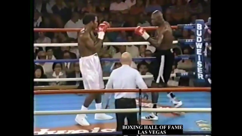 Lennox Lewis DQ Henry Akinwande This Day in Boxing July 12, 1997