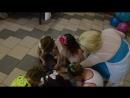 27.04.2018г.День рождение доченьки!7 лет!Кафе Константа,в гости приехала Эльза!