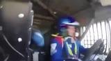 В кабине гоночного КАМАЗа на скорости 160 кмч