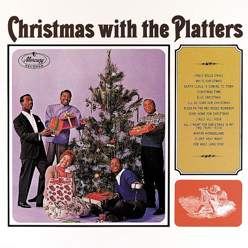 The Platters альбом Christmas With The Platters