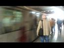 Отбытие именного поезда Науки будущего со станции Добрынинская