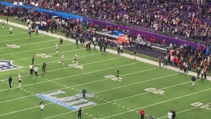Tom Brady has taken the field
