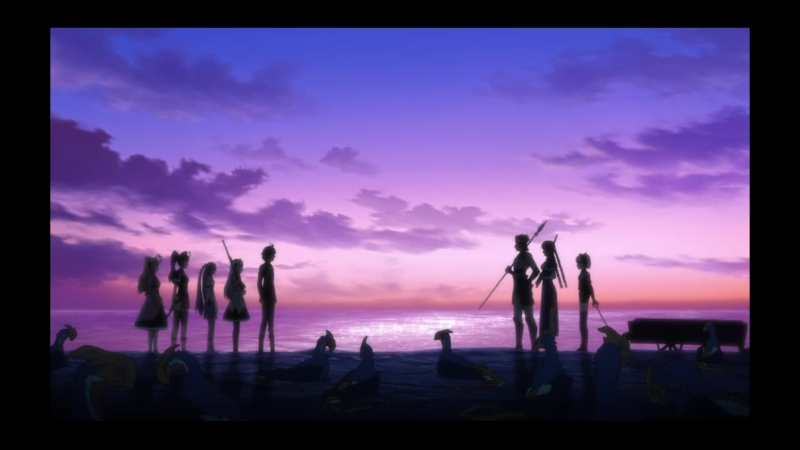 Гроб принцессы Чайки / Hitsugi no Chaika 2 сезон (1-10 серии)