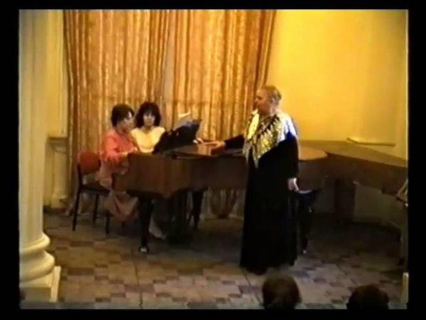 Татьяна Смирнова Silentium Ф.Тютчев Э.Горелова (меццо-сопрано)