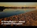 В Петербурге идет лед. Это красиво и безумно