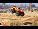 Монстер Трак Молния Маквин Мультики про Машинки Игры для Детей Monster Truck Lightning McQueen