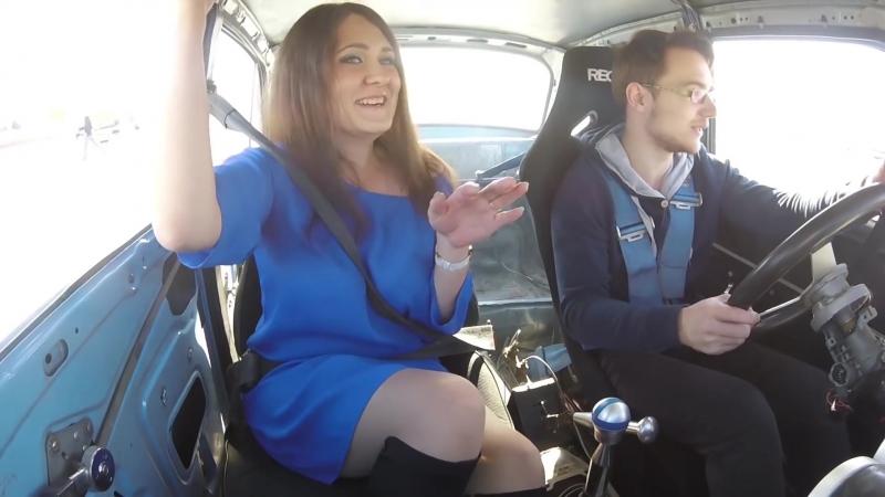 Дрифт такси с девушкойDrift taxi with a girldriftzjaka4kaSLS