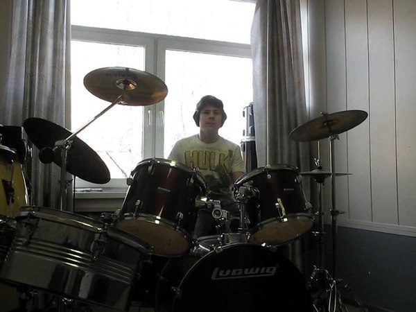 Ученики Ребриева Владимира-Drum cover Latin Funk.