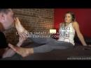 Crystal's Sweaty Feet After Gym Dreamgirls in Socks